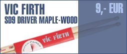 Vic Firth SD9 Driver Maple -Wood-