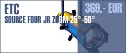ETC Source Four JR Zoom 25� - 50�