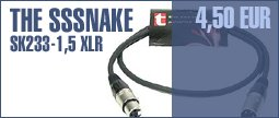 The Sssnake SK233-1,5 XLR Patch
