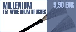 Millenium T51 Drum Brushes