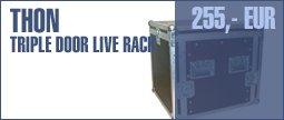Thon Triple Door Live Rack 10U 45