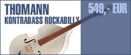 Thomann Rockabilly WHE 3/4 Double Bass