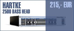 Hartke 2500 Bass Head
