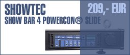 Showtec Show Bar 4 Powercon® Slide