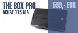 the box pro Achat 115 MA