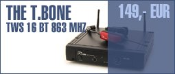 the t.bone TWS 16 BT 863 Mhz