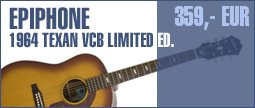 Epiphone 1964 Texan Limited Edition VCB