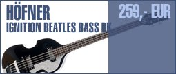 H&ouml;fner Ignition Beatles Bass BK