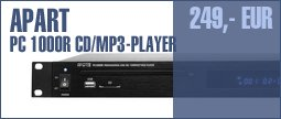Apart PC 1000R CD/MP3-Player