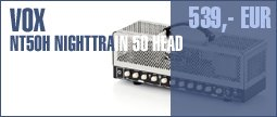 Vox NT50H Nighttrain 50 Head