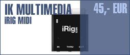 IK Multimedia iRig Midi