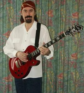 Micky Moody with Hagstrom Custom Swede