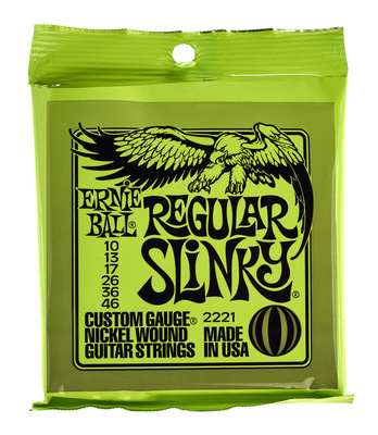 Ernie Ball 2221 Regular Slinky Gitarrensaiten