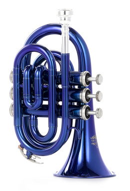 Thomann TR 5 Blue Bb-Pocket Trumpet