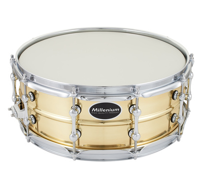 "Millenium 14""x5,5"" Power Brass Snare"
