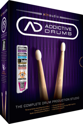XLN Audio Addictive Drums virtuelles Drum Studio software