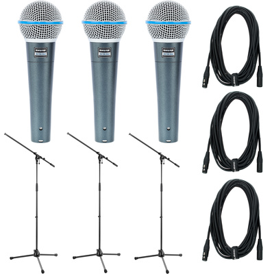 Shure Beta 58 Triple Bundle