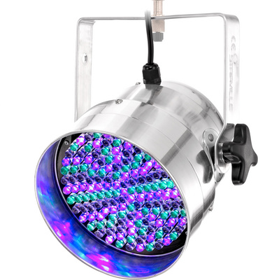 Stairville Led Par 56 10 Mm Silver Rgb