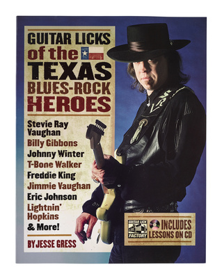 Hal Leonard Texas Blues - Rock Heroes