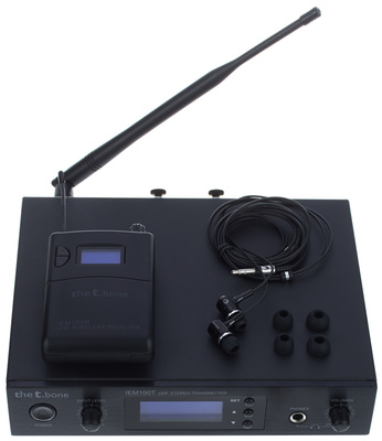 The Tbone Iem 100 863 Mhz Wireless-System