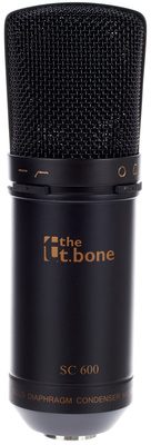 the t.bone SC600 Studio Grossmembran-Mikrofon