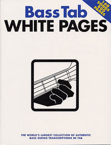 Hal Leonard White Pages Bass Tab