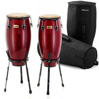 Millenium MC890WR Conga Set with Gigbags