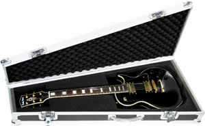 Harley Benton Flightcase Wood LP-Style