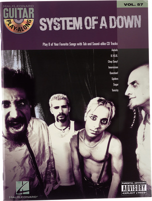 Hal Leonard System Of A Down Play-Along