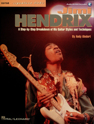 Music Sales Jimi Hendrix Signature Licks