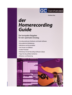 GC Carstensen Verlag Der Homerecording Guide