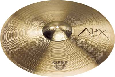 "Sabian 22"" APX Ride Solid"