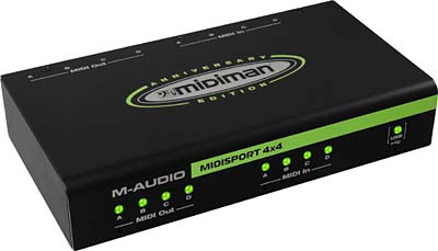 M-Audio MIDISport 4X4 AE USB