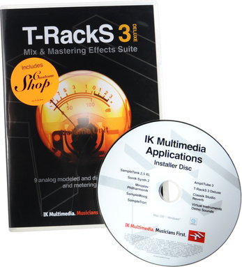 IK Multimedia T-RackS 3 Deluxe Mastering/Mixing Software