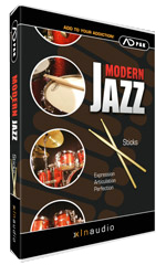 XLN Audio ADPak Modern Jazz Sticks