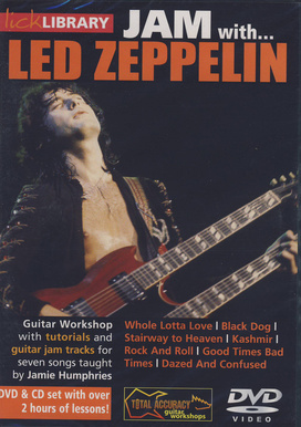 Music Sales Jam With Led Zeppelin DVD
