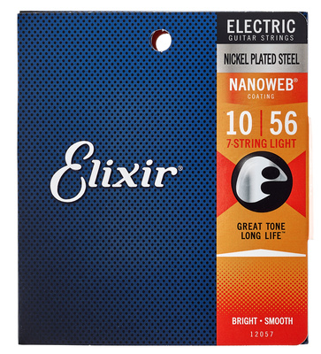 Elixir Nanoweb 12057 Light 7 String