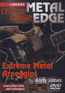 Music Sales Metal Edge Extreme Metal Arp.