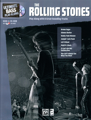 Alfred Music Publishing Rolling Stones Bass Play-Along