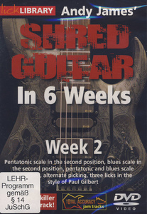 Music Sales Shred Guitar Week 2