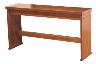 Viscount Organ Bench Dark Oak 30