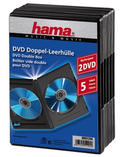 Hama DVD-Trays Double 5 Pack