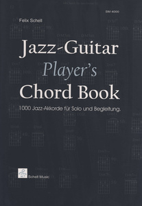 Schell Music  Jazzguitar Players Chord Book