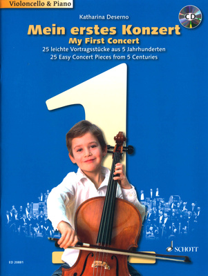 Schott My First Concert Cello