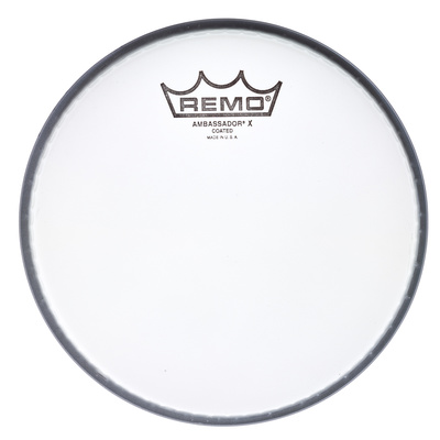 "Remo 13"" Ambassador X Coated"