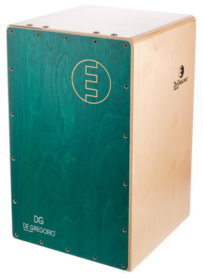 DG De Gregorio Chanela Cajon Green