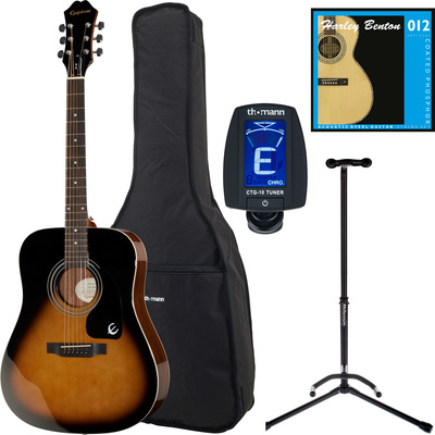Epiphone DR-100 VSB Bundle