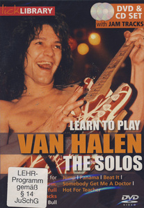 Music Sales Van Halen The Solos