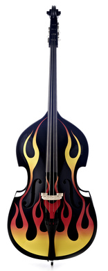 Thomann Hot Flames Bass Hfl Bk 34