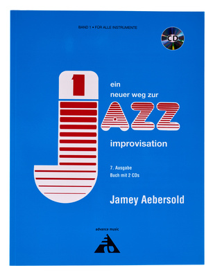 Advance Music Aebersold Jazz Improvisation D